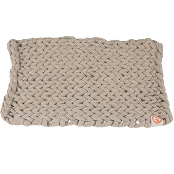 100% Organic Pure Wool Bathmat | Natural