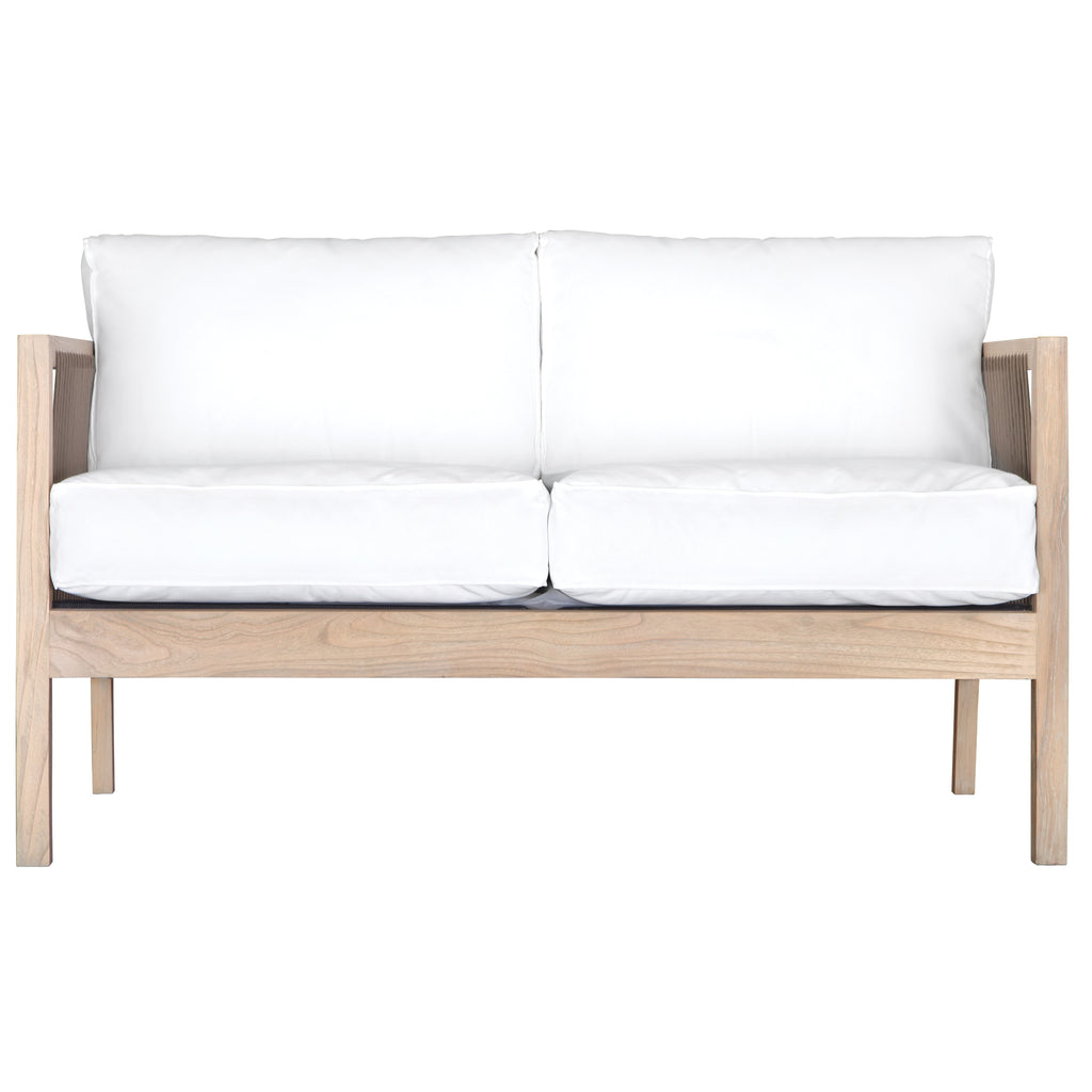 Brindi Sofa | Two Seater | White - Uniqwa Collections wholesale furniture suppliers for interior designers australia