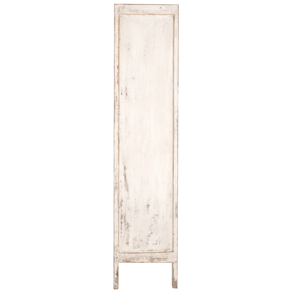 Bulu Tall Cabinet | White - Uniqwa Collections wholesale furniture suppliers for interior designers australia