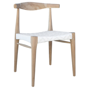 Cape Town Horn Dining Chair | White - Uniqwa Collections wholesale furniture suppliers for interior designers australia