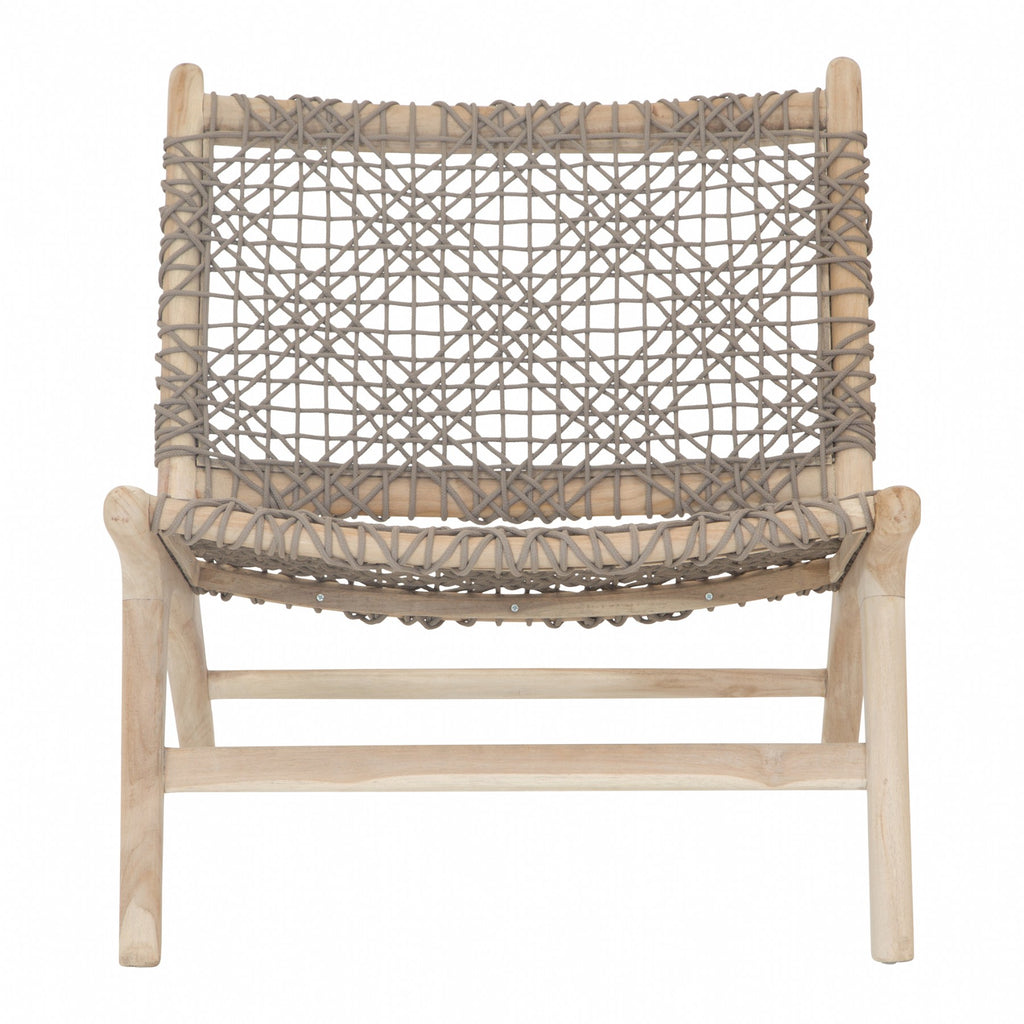 Cape Town Occasional Chair | Taupe Outdoor Rope - Uniqwa Collections wholesale furniture suppliers for interior designers australia