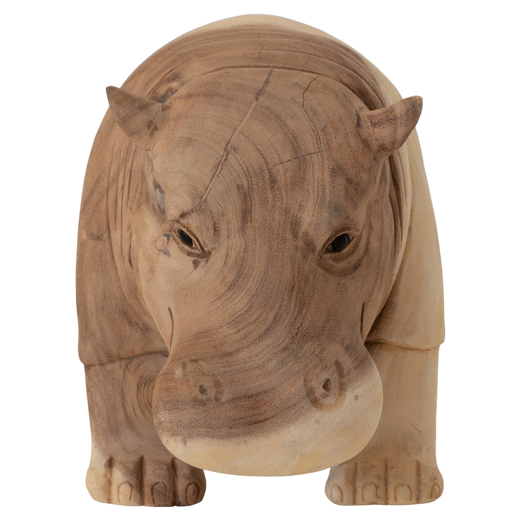 Carved Hippo