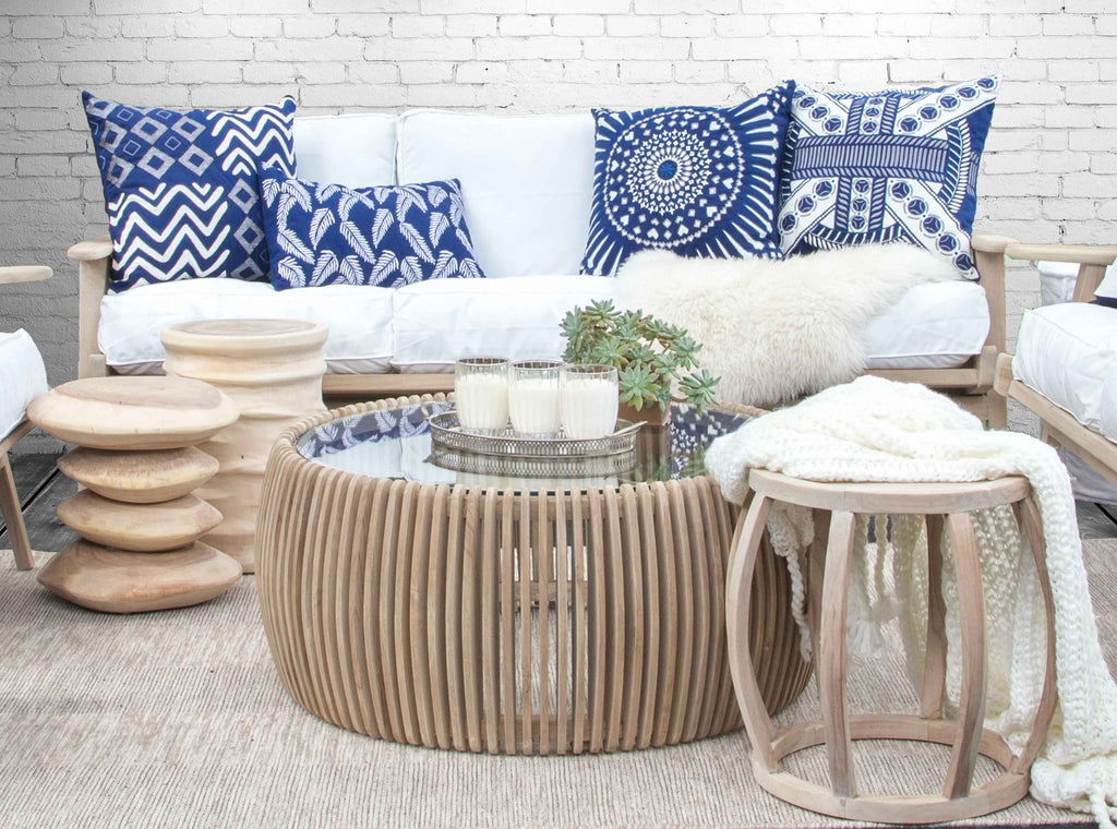Clifton Beach Coffee Table | Natural - Uniqwa Collections wholesale furniture suppliers for interior designers australia