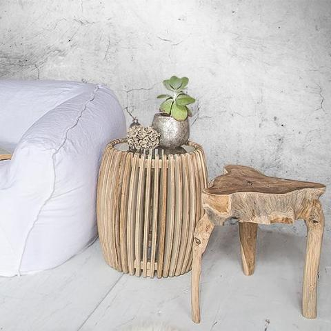 Clifton Beach Side Table - Uniqwa Collections wholesale furniture suppliers for interior designers australia