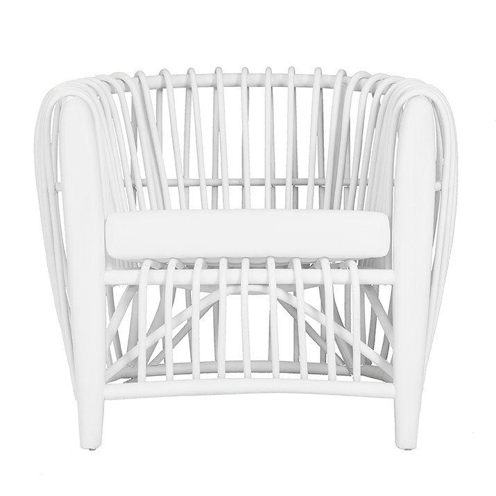 Cocoa Tub Chair | White - Uniqwa Collections wholesale furniture suppliers for interior designers australia