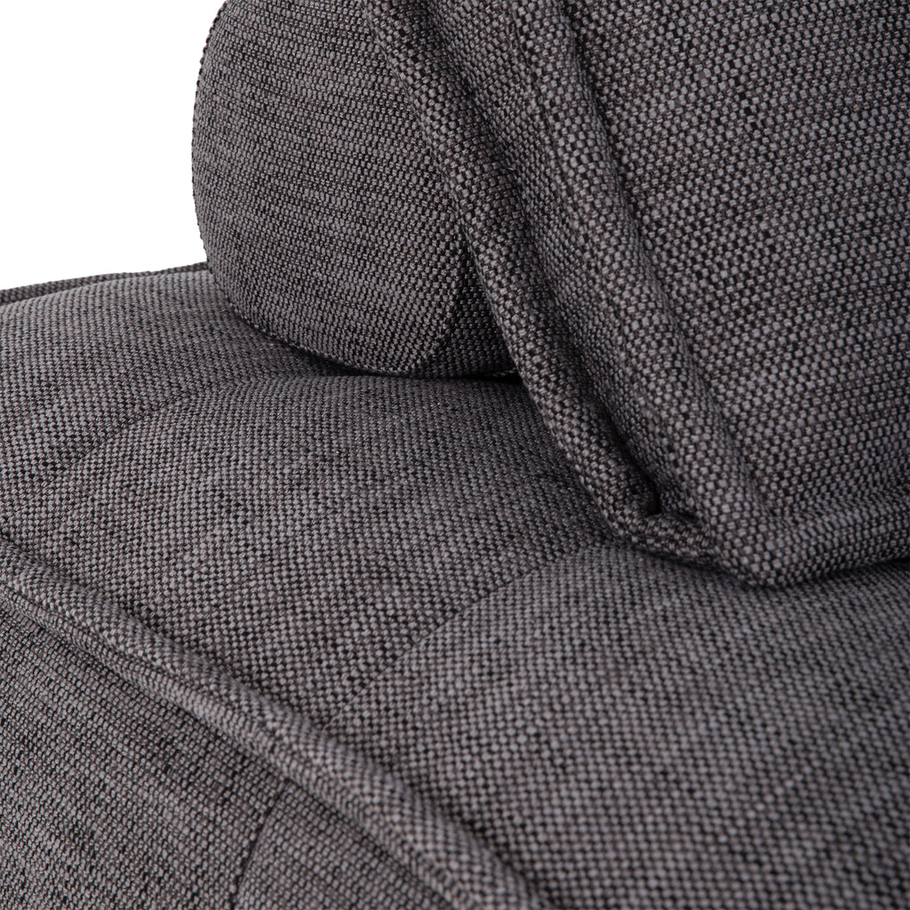 Collins Sofa | One Seater | Dark Grey - Uniqwa Collections wholesale furniture suppliers for interior designers australia