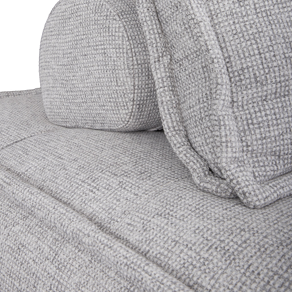 Collins Sofa | One Seater | Light Grey