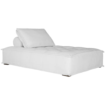 Collins Sofa | Chaise | White Corduroy