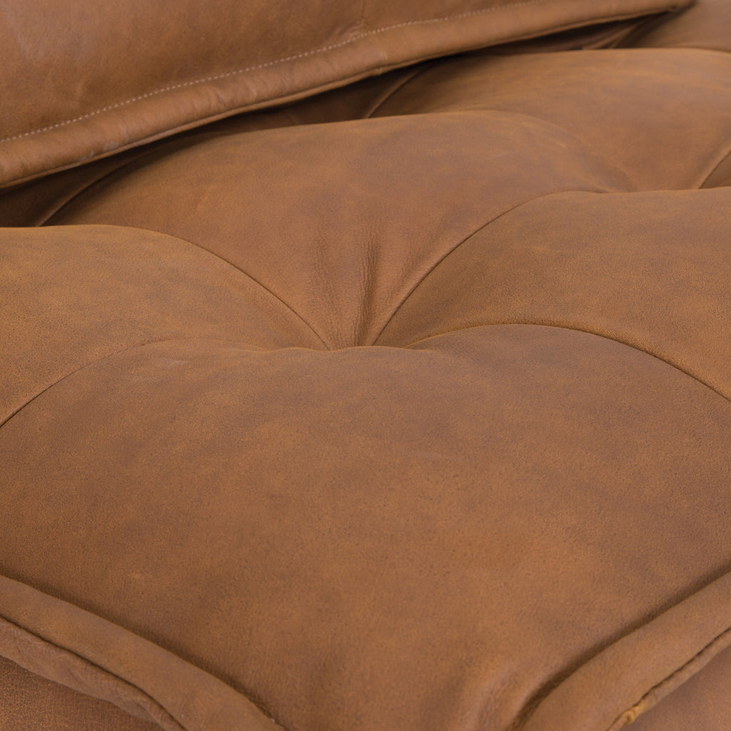 Collins Sofa | One Seater | Leather - Uniqwa Collections wholesale furniture suppliers for interior designers australia