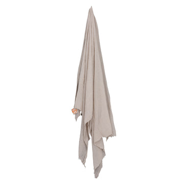 Cotton Throw | Sand - Uniqwa Collections wholesale furniture suppliers for interior designers australia