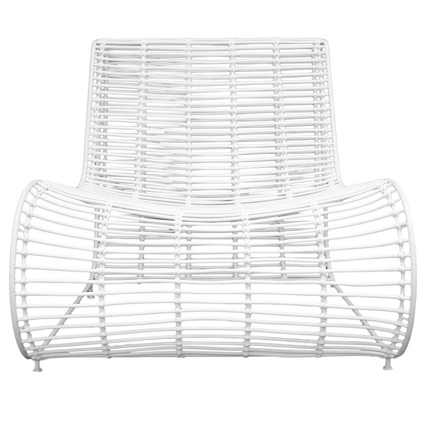 Cuba Occasional Chair | White - Uniqwa Collections wholesale furniture suppliers for interior designers australia