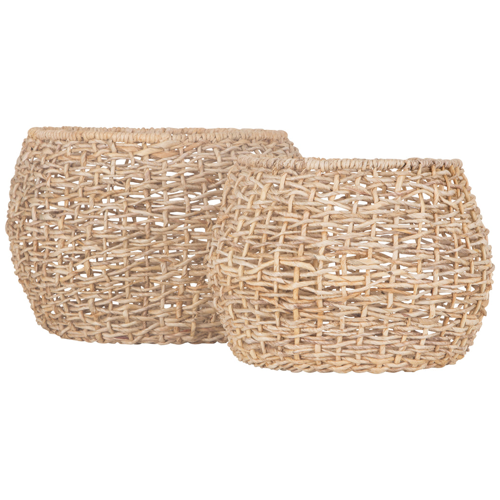 Duo Baskets | Set of Two - Uniqwa Collections wholesale furniture suppliers for interior designers australia