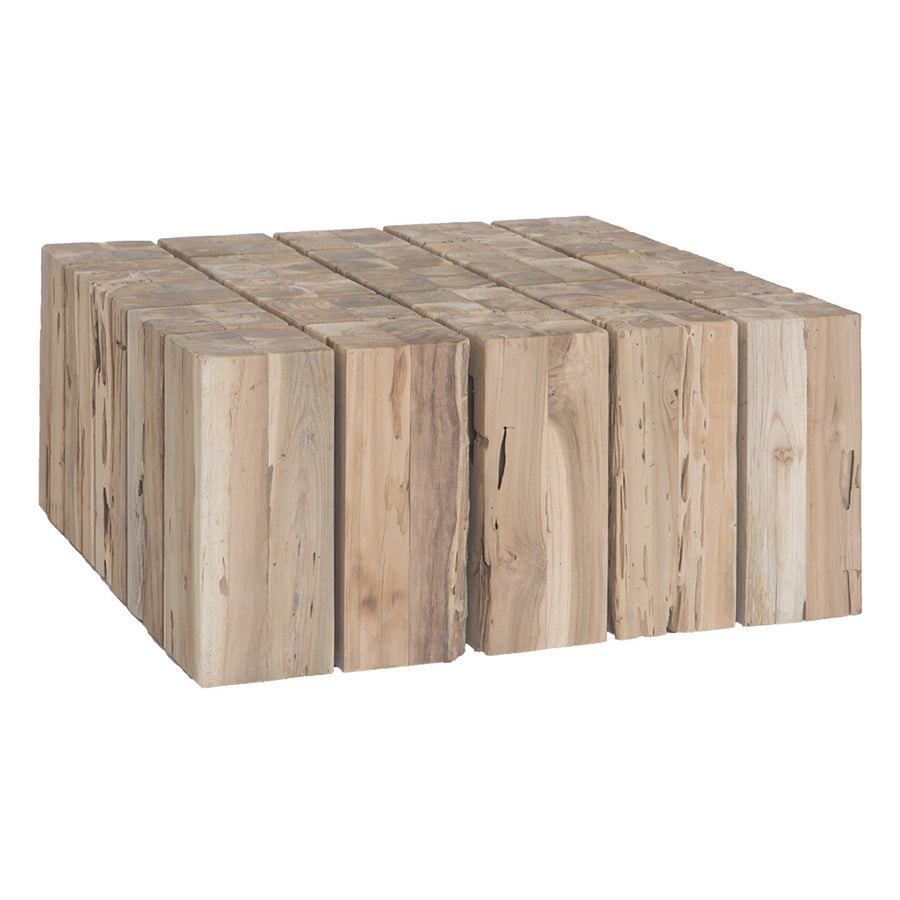 Hamali Block Coffee Table Natural Uniqwa Collections
