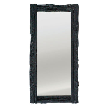 Hanale Mirror | Charred - Uniqwa Collections wholesale furniture suppliers for interior designers australia