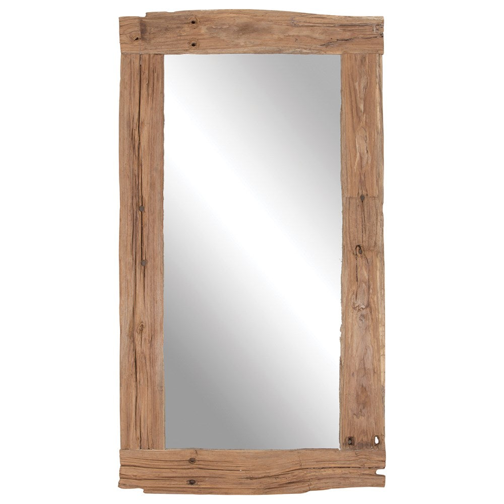 Hanale Mirror | Natural - Uniqwa Collections wholesale furniture suppliers for interior designers australia