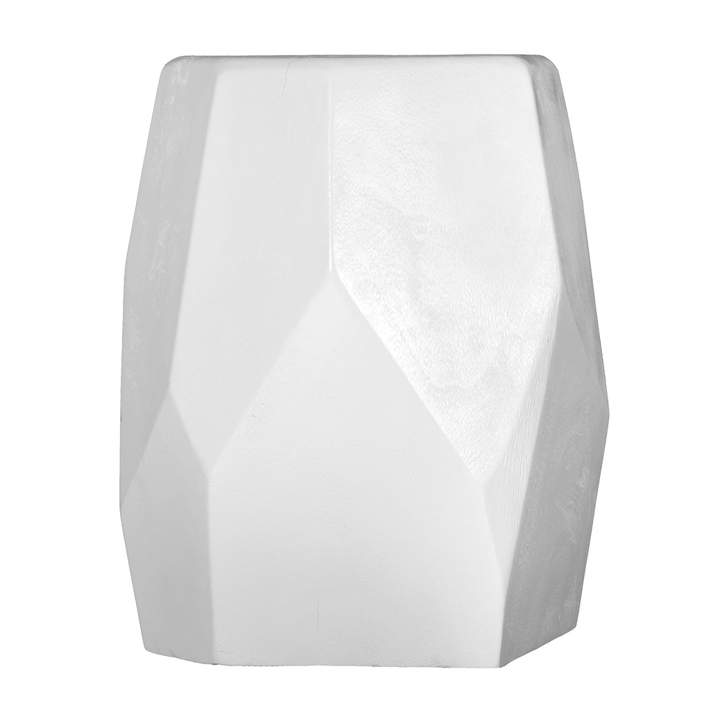 Harare Stool | White - Uniqwa Collections wholesale furniture suppliers for interior designers australia