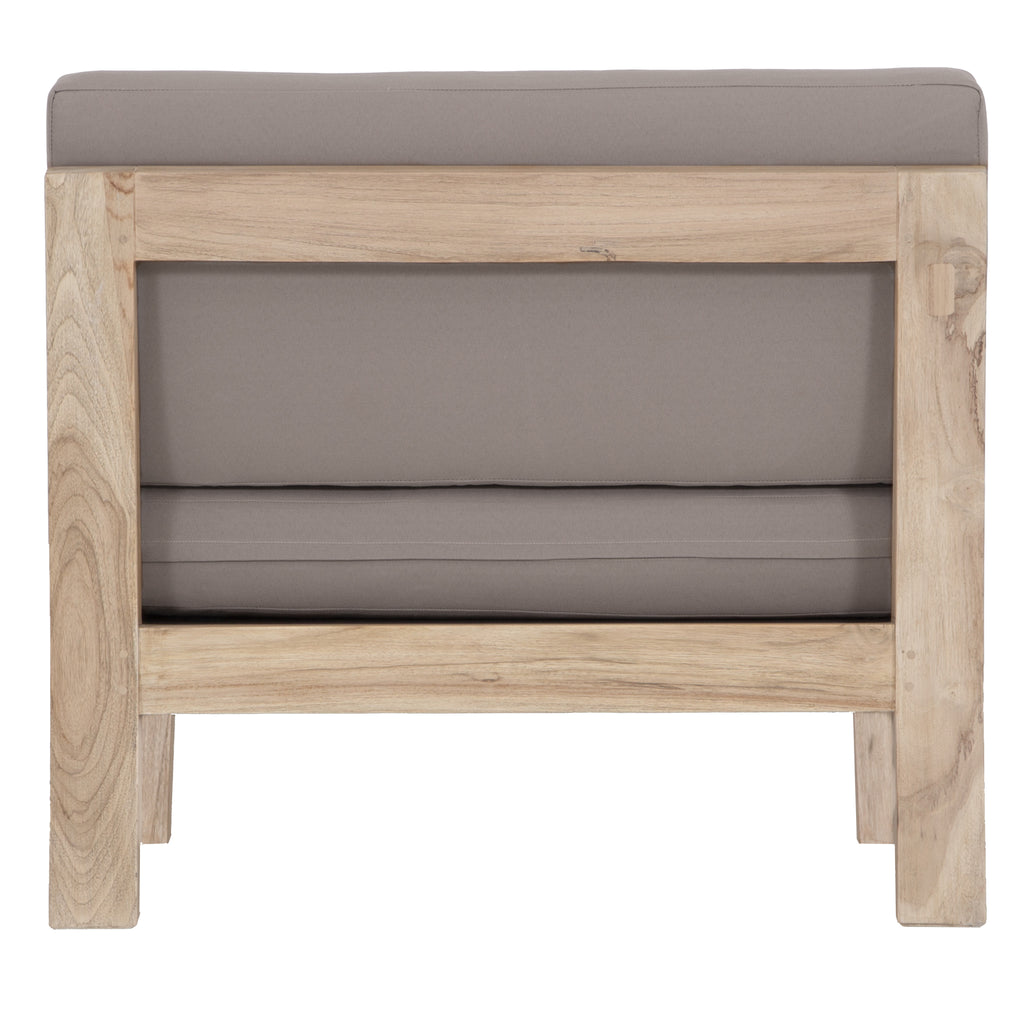 Harper Armless Outdoor Sofa | One Seater - Uniqwa Collections wholesale furniture suppliers for interior designers australia
