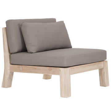Harper Armless Outdoor Sofa | One Seater