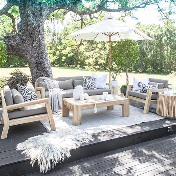 Harper Outdoor Sofa | One Seater - Uniqwa Collections wholesale furniture suppliers for interior designers australia