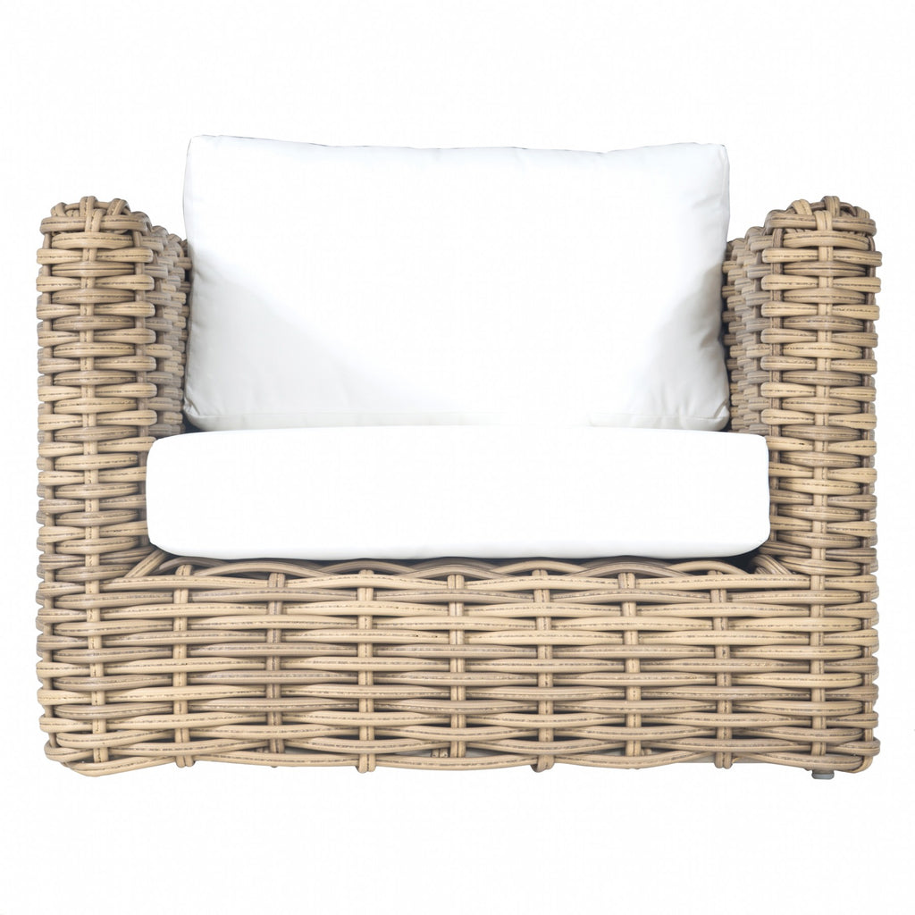 Himba Outdoor Sofa | One Seater - Uniqwa Collections wholesale furniture suppliers for interior designers australia