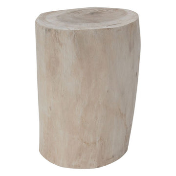 Log Stool | Natural
