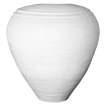 Lundu Pot | White