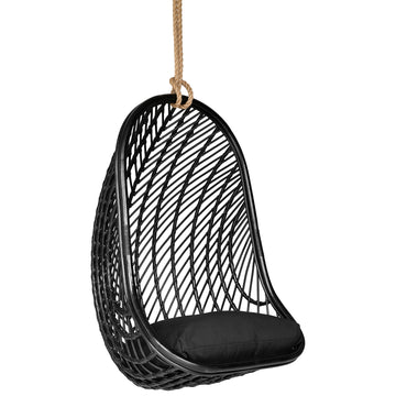 Makeba Hanging Chair | Black