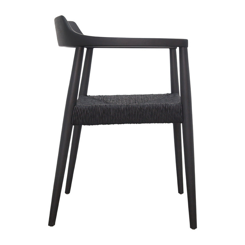Makelo Horn Armchair | Black