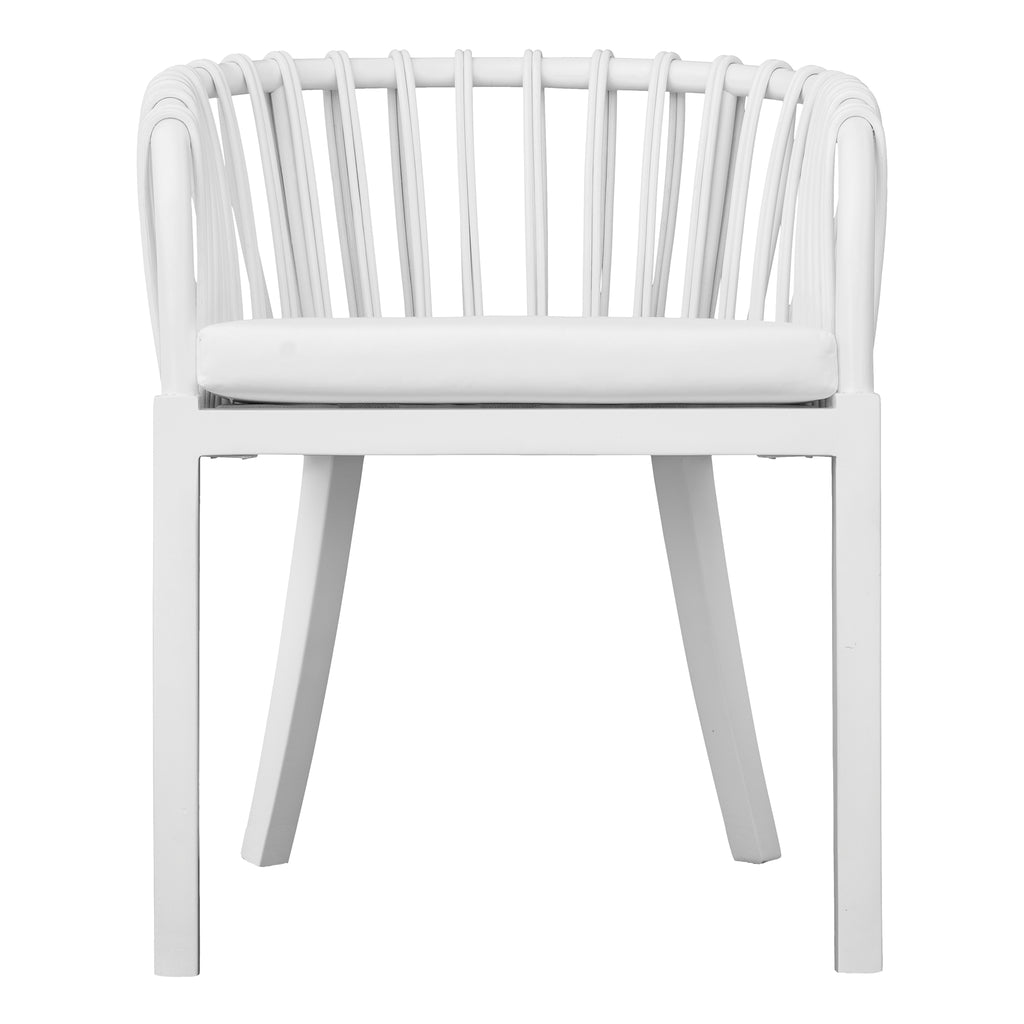 Malawi Tub Dining Chair | White