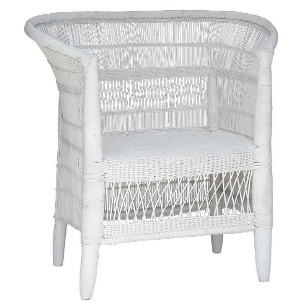 Original Malawi Dining Chair White Uniqwa Collections