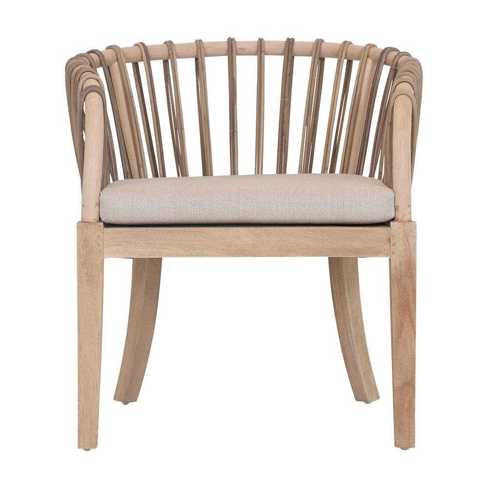 Malawi Tub Occasional Chair | Natural