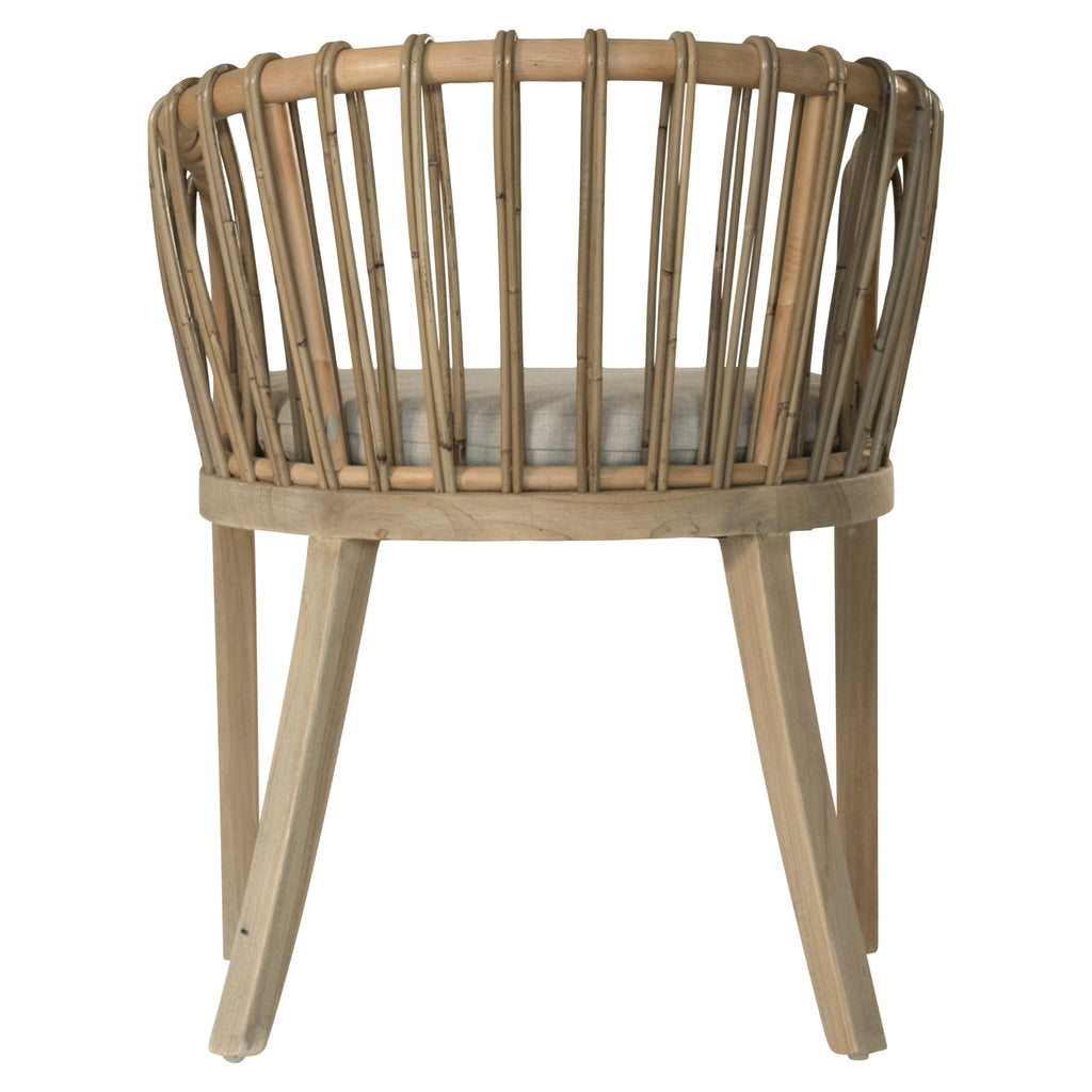 Malawi Tub Dining Chair | Natural
