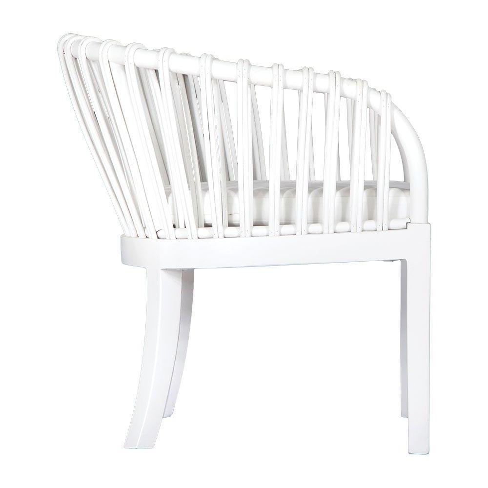 Malawi Tub Occasional Chair | White