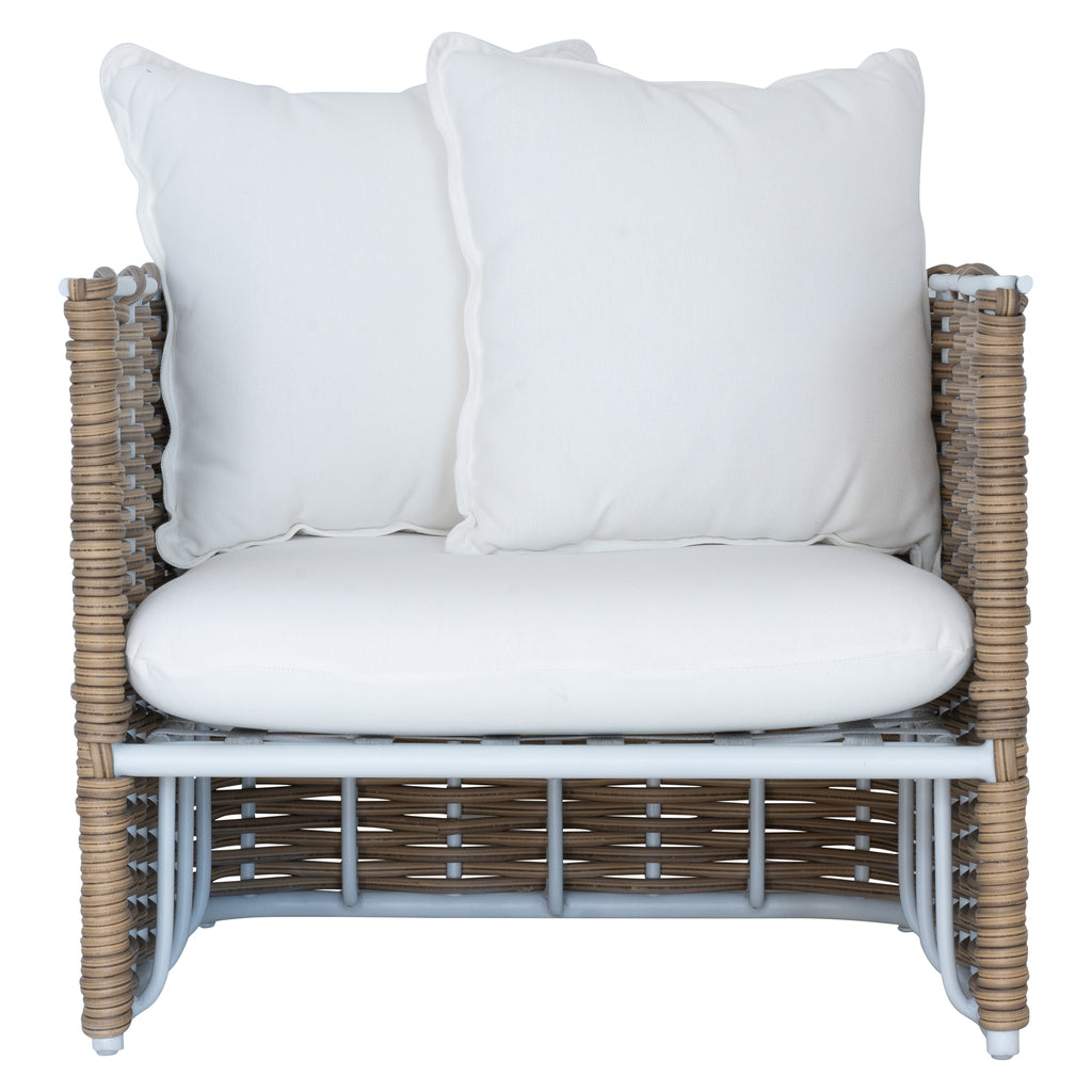 Manyara Sofa | One Seater | White