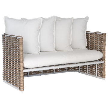 Manyara Sofa | Two Seater | White