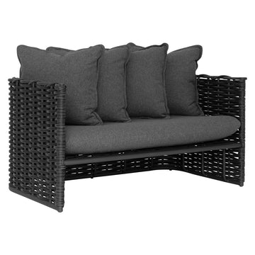 Manyara Sofa | Two Seater | Charcoal