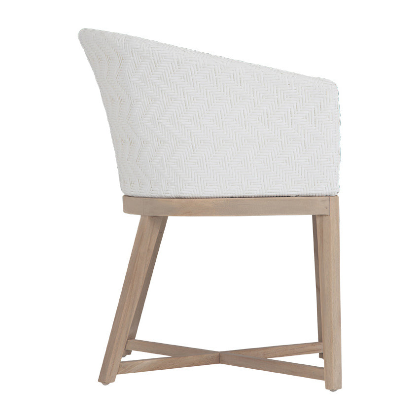 Mossel Bay Dining Chair | White