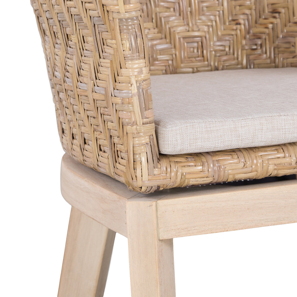 Mossel Bay Barchair | Natural
