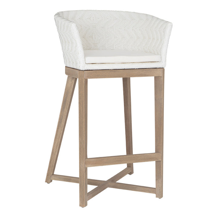 Mossel Bay Barchair | White