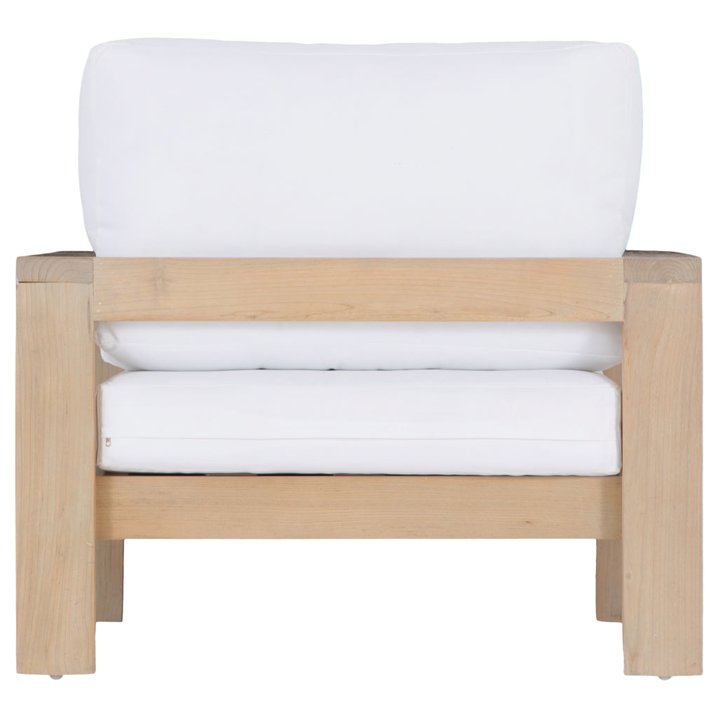 Mozambique Sofa | One Seater | White