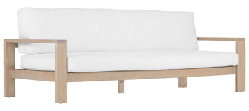 Mozambique Sofa | Three Seater | White