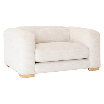 Mukuru Sofa | One Seater | Natural