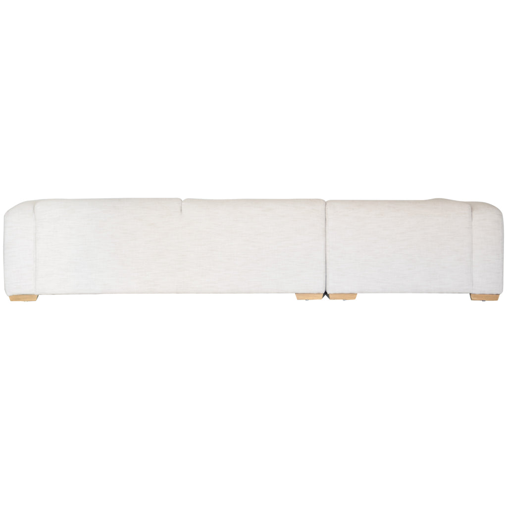 Mukuru Corner Sofa | Left Chaise | Natural