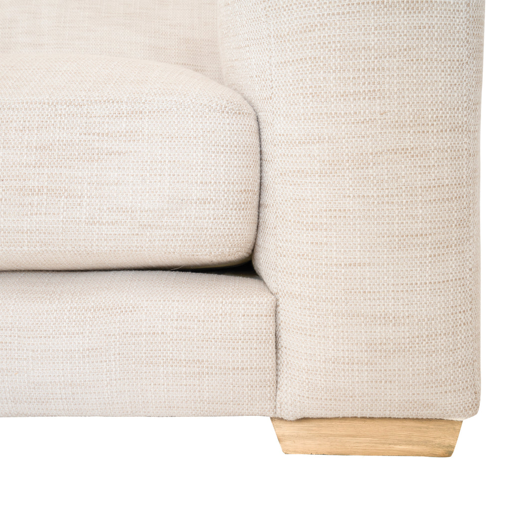 Mukuru Corner Sofa | Right Chaise | Natural