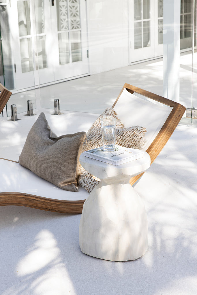 Mykonos Lounger | White