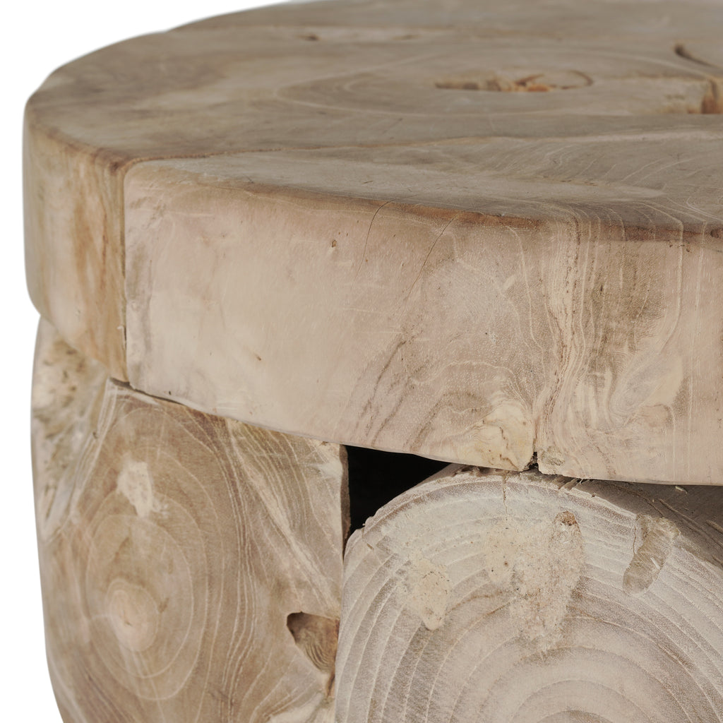 Nahoon Beach Side Table | Blonde