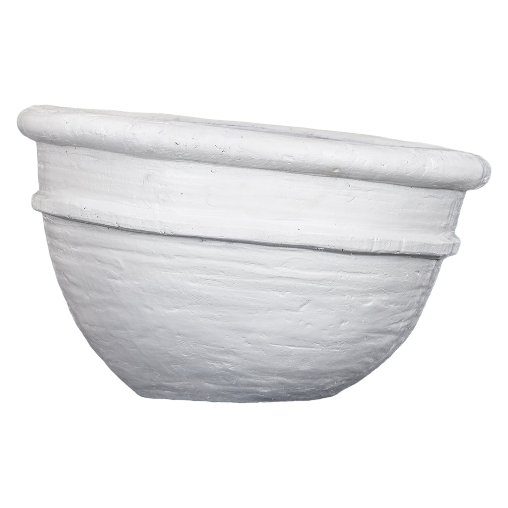 Nommo Terracotta Pot | White