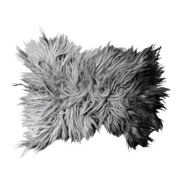 Animal Friendly Sheeprug | 100% Wool | Dark Grey - Uniqwa Collections wholesale furniture suppliers for interior designers australia