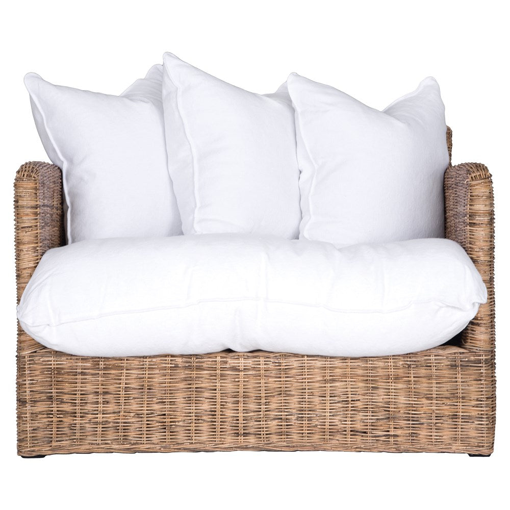 Singita Indoor Sofa | One Seater | Natural Weave