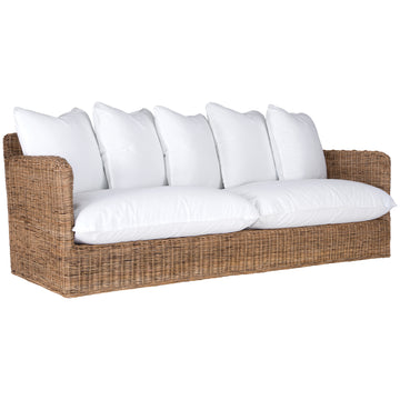 Singita Outdoor Sofa | Three Seater | Natural Weave